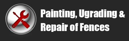 SERVICES-PaintingUpgradingRepairOfFences